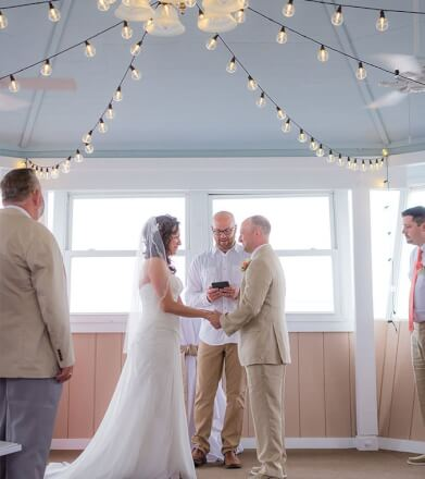 outer banks wedding ceremony venue